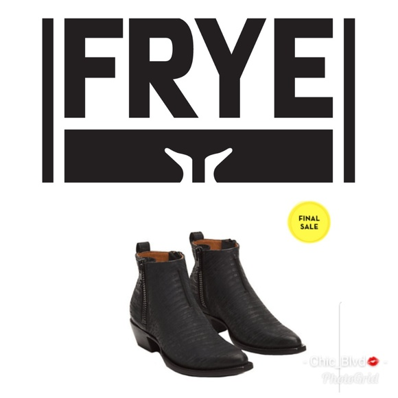 150469830f11 Frye Shoes - 🆕 Frye Sacha Moto Shortie Ankle Boot